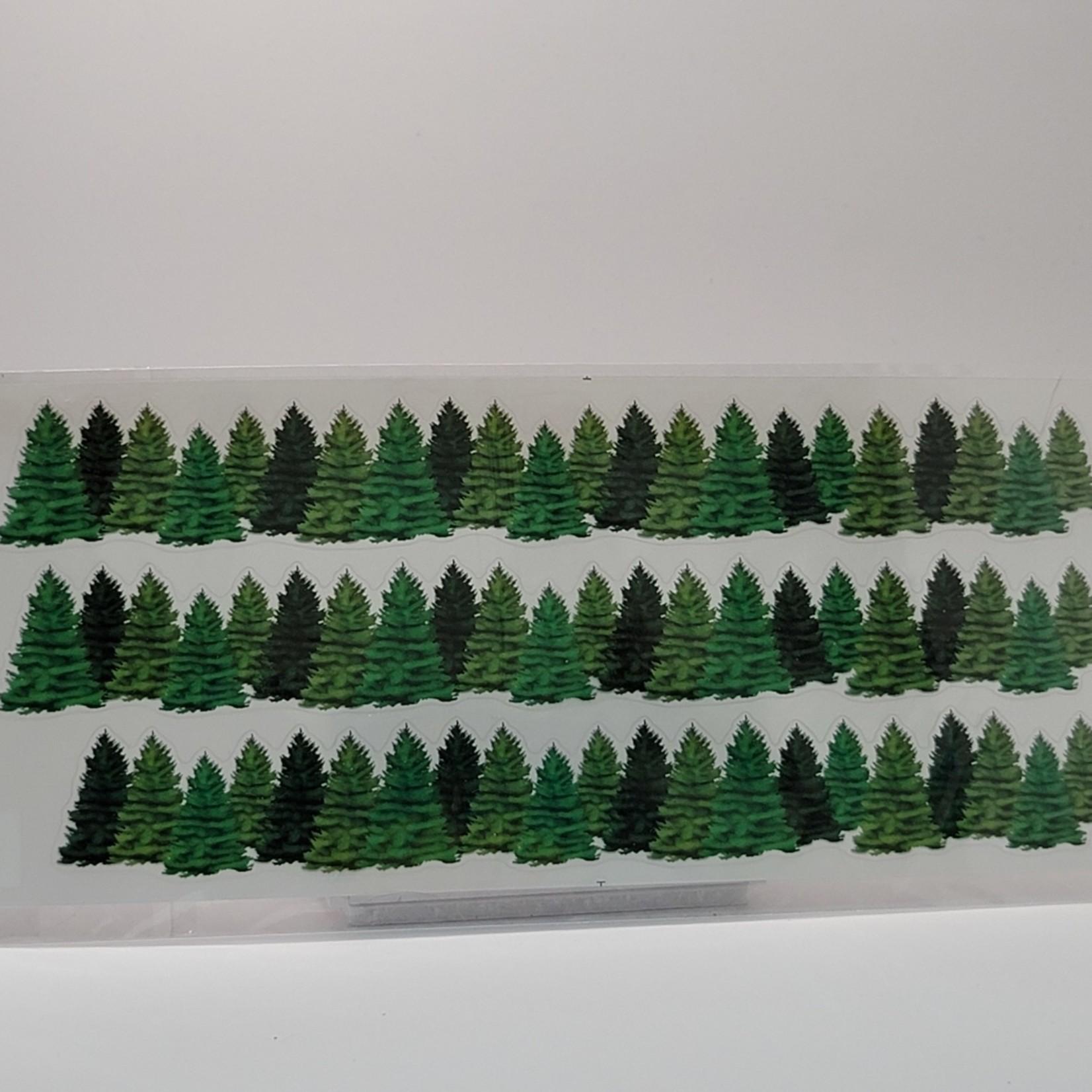 Sticker Boarders - Evergreens