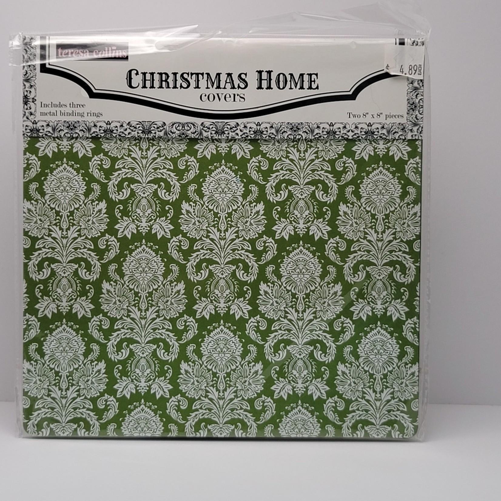 """teresa collins - Christmas Home Covers (8"""" x 8"""")"""