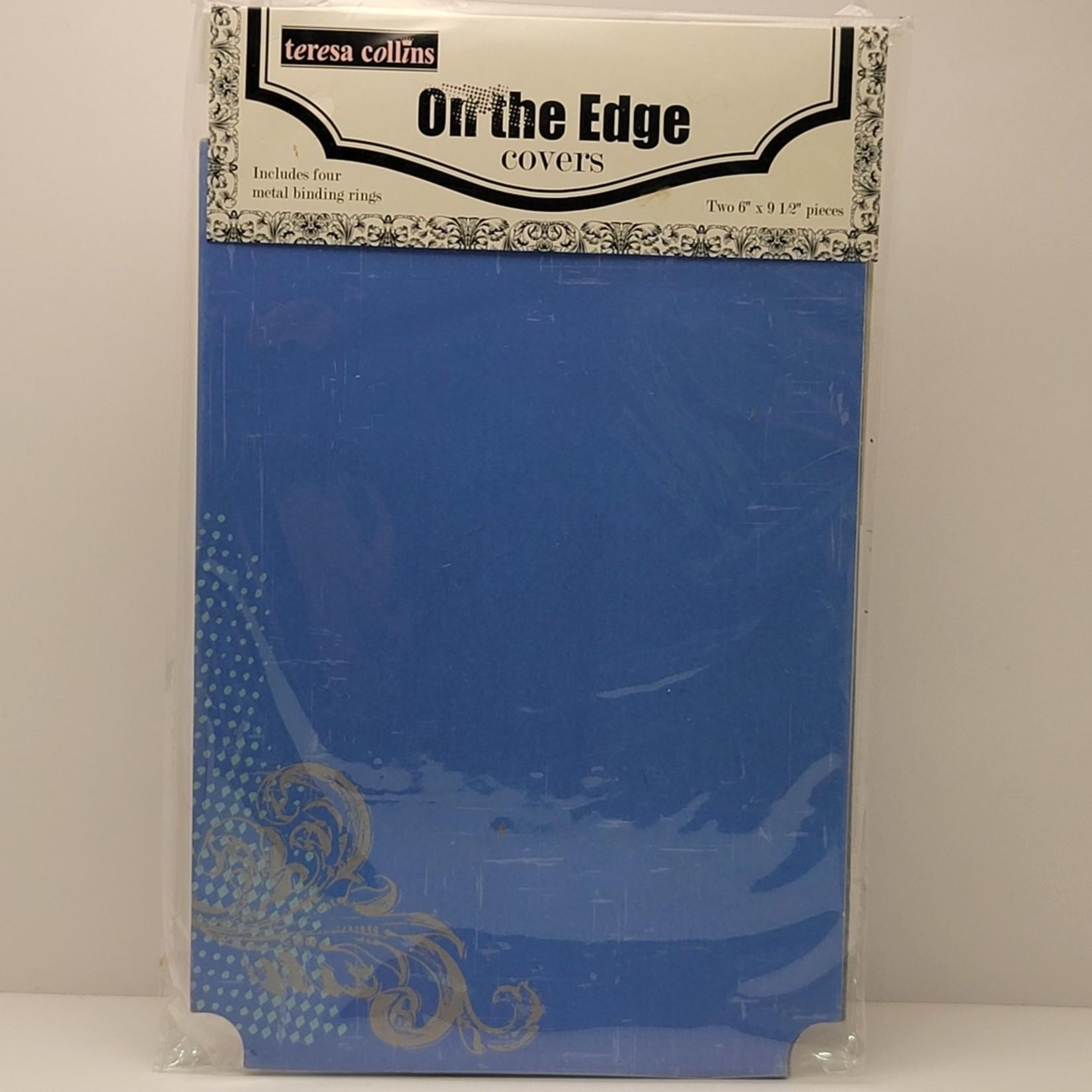 "teresa collins - On the Edge Covers (6"" x 9.5"")"