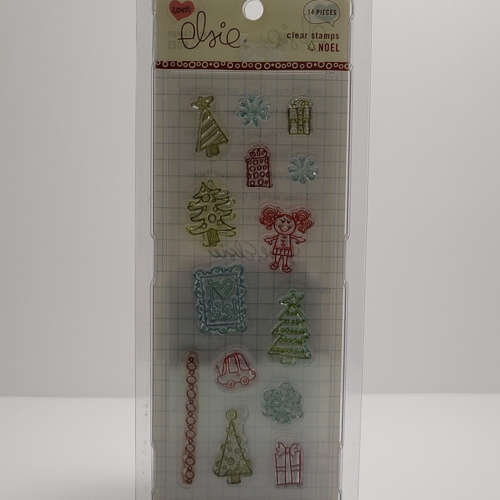 Clear Stamps - Noel
