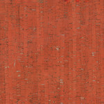 Belagio Packaged Cork Fabric 18x15 Red/Silver