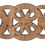 Belagio Laser-Cut Cork Trim .75'' - Wheels