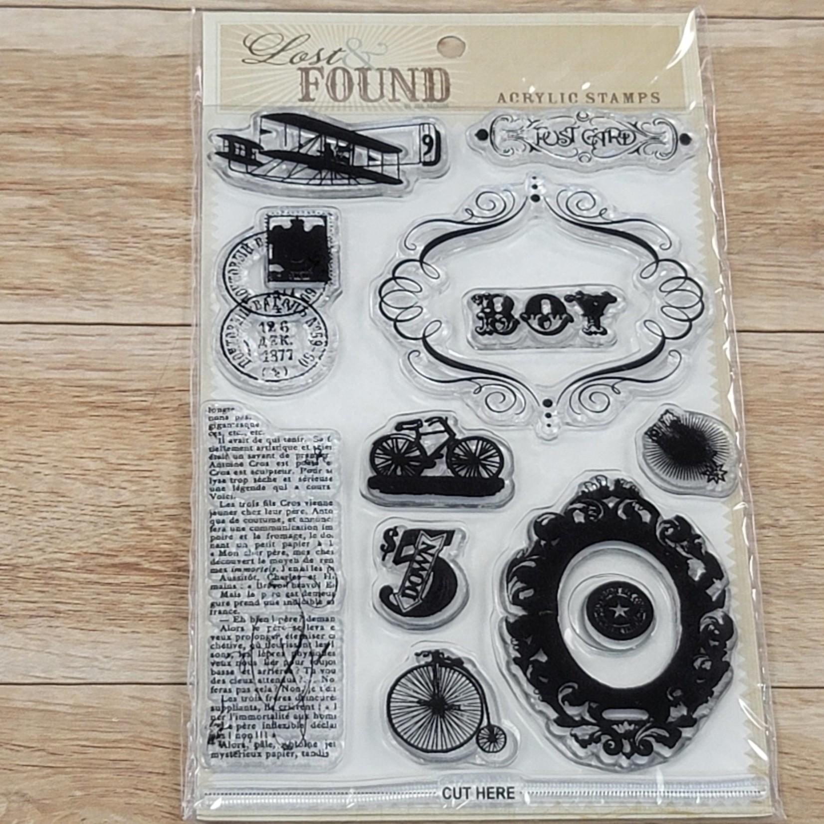 My Minds Eye - Clear Stamps - Portobello Roads ''Boy''