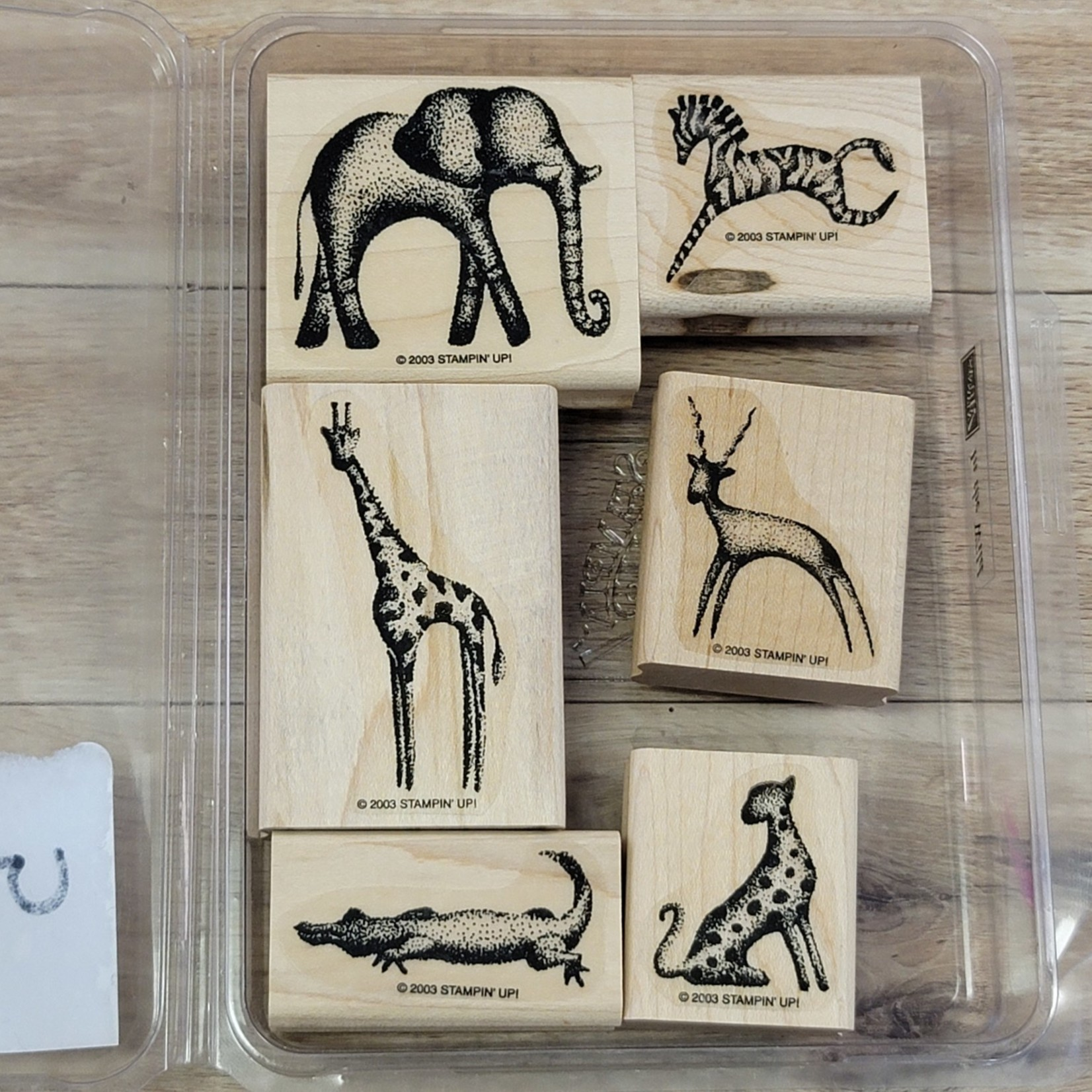 Stampin' Up Stampin' Up - Block Stamp - In the Wild