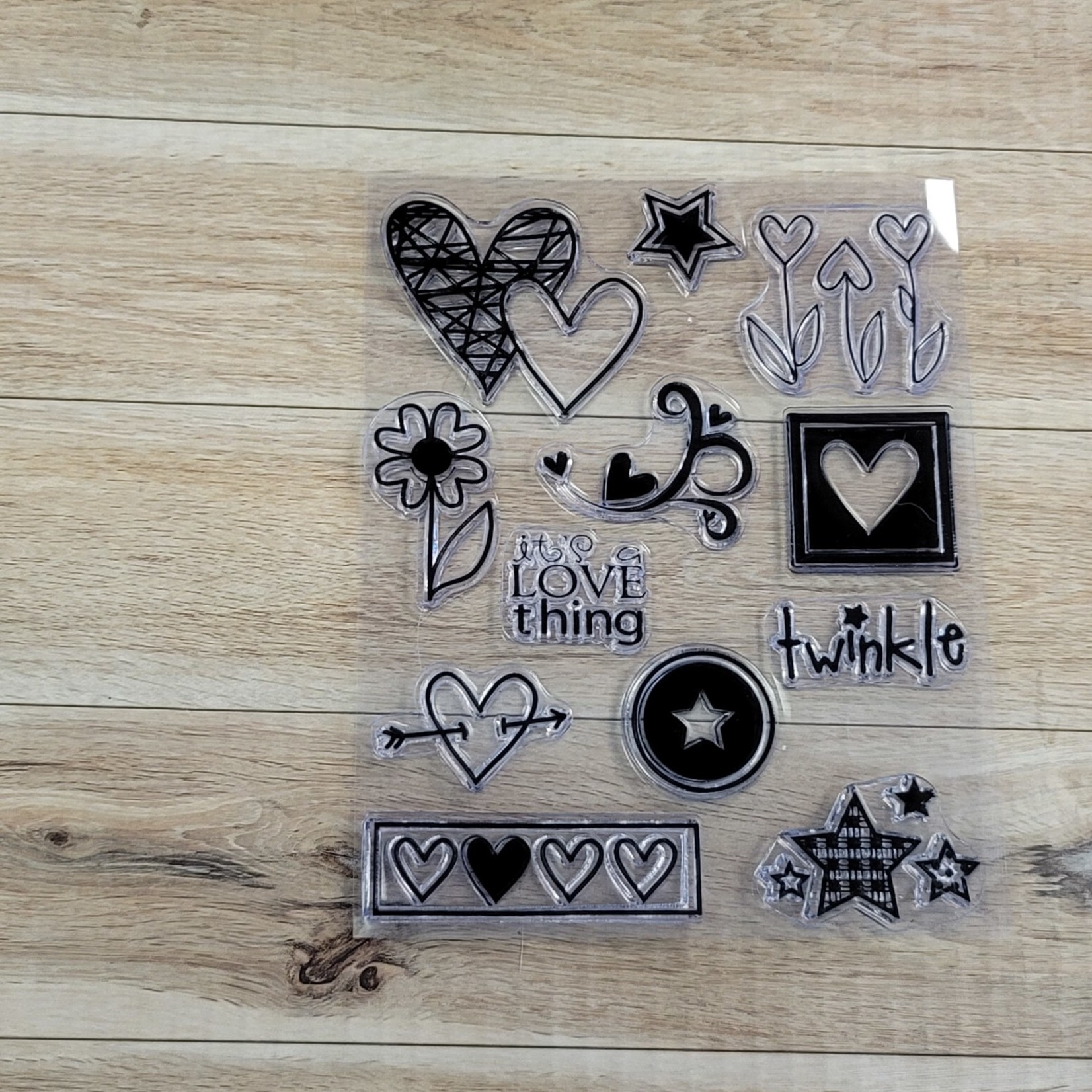 Clear Stamps - It's a love thing