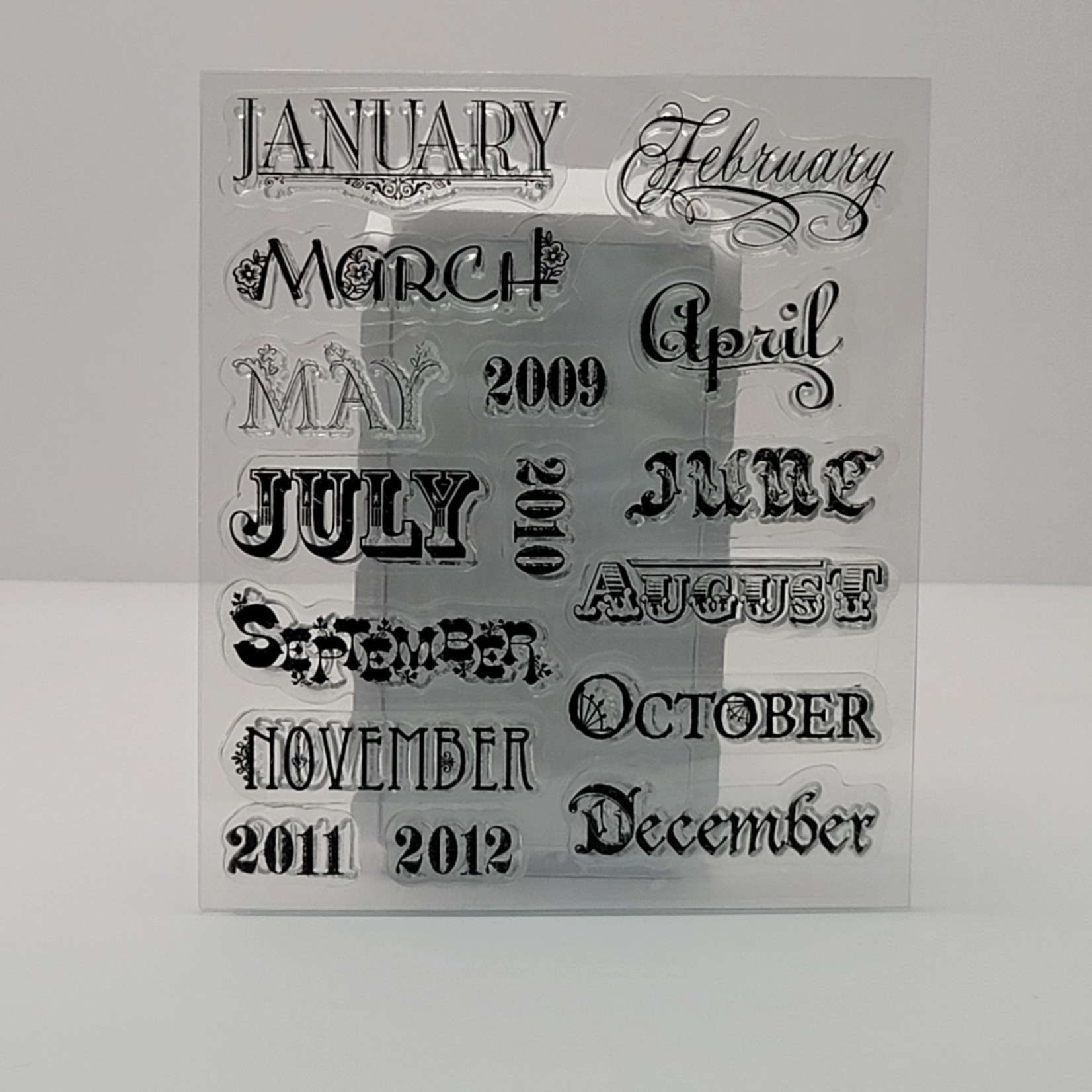 Clear Stamps - Months