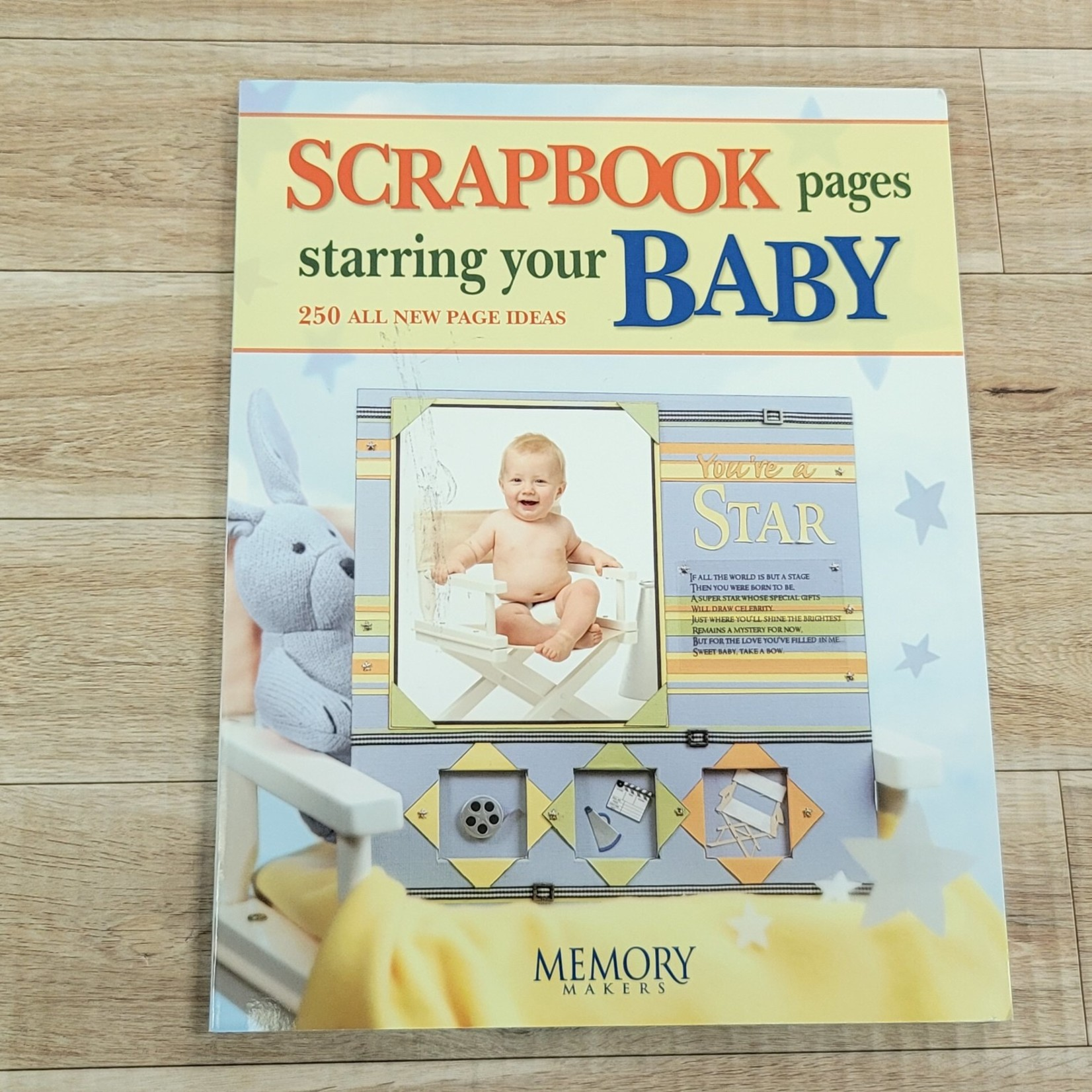 Scrapbooking Books - Scrapbook pages starring your baby