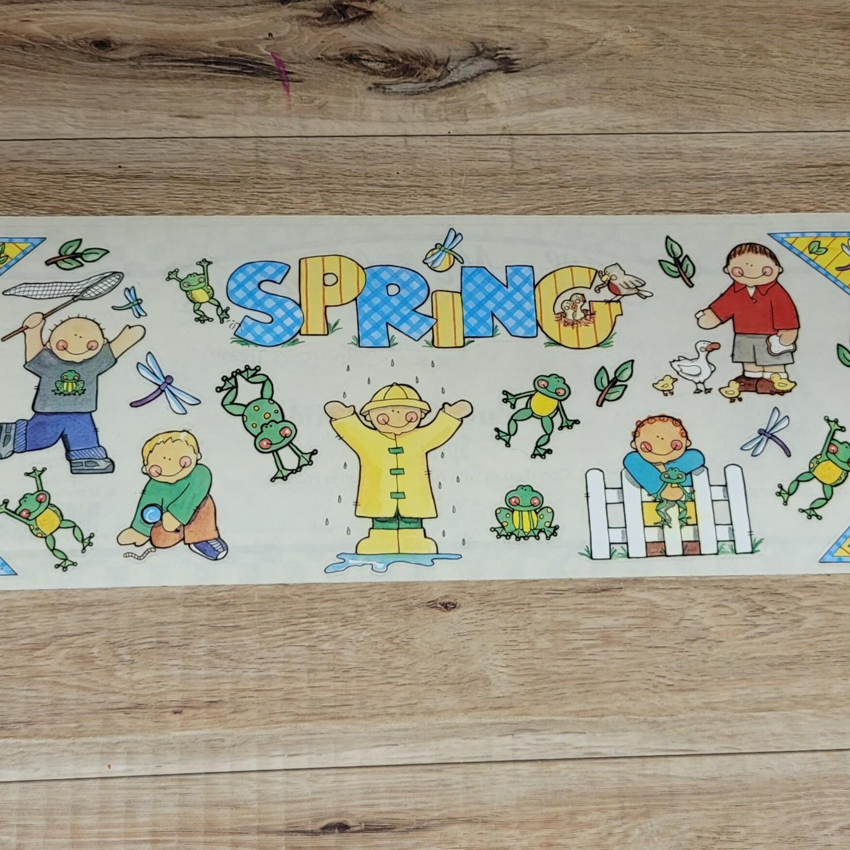 Sticker Sheet - Spring