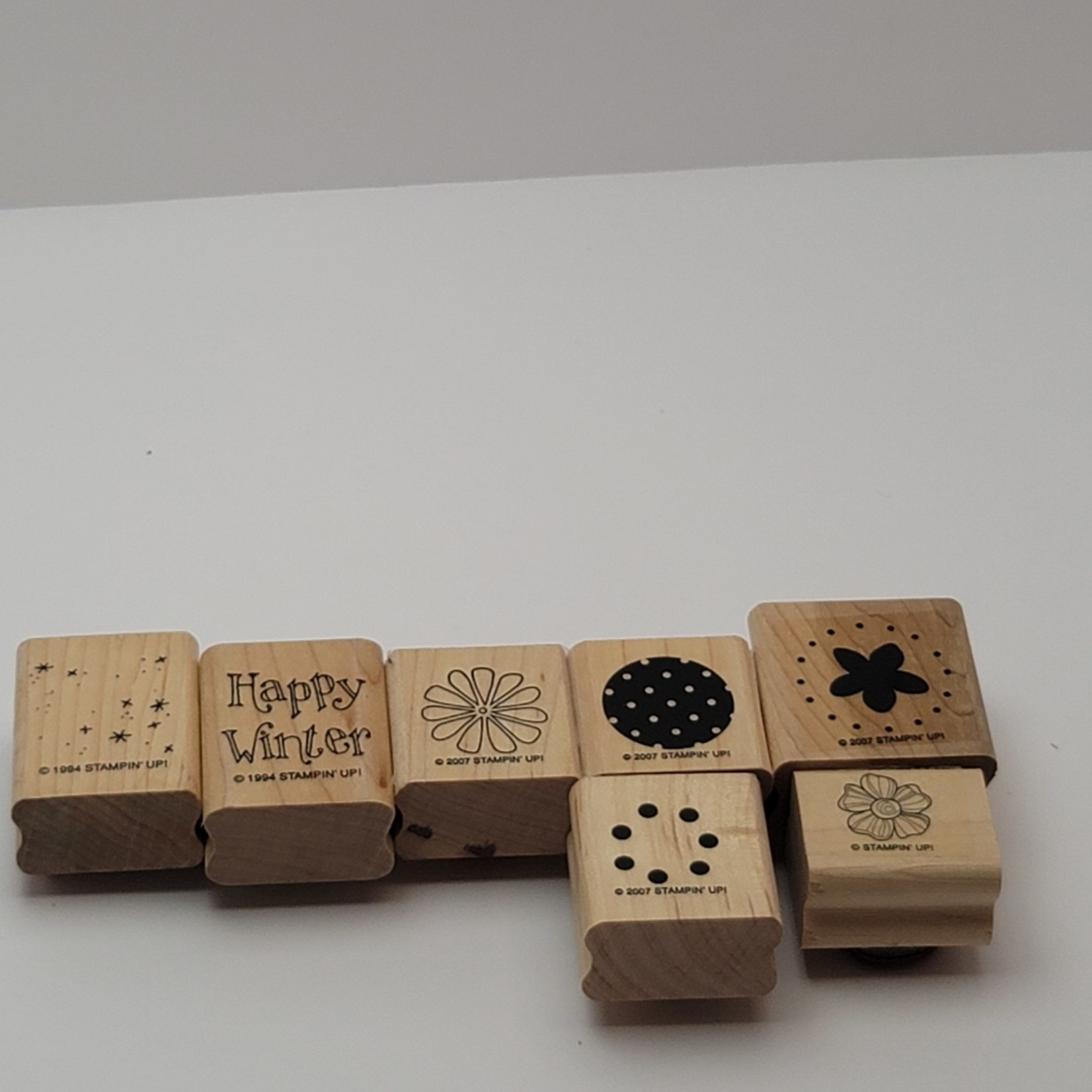 Assorted Stampin' Up Block Stamps
