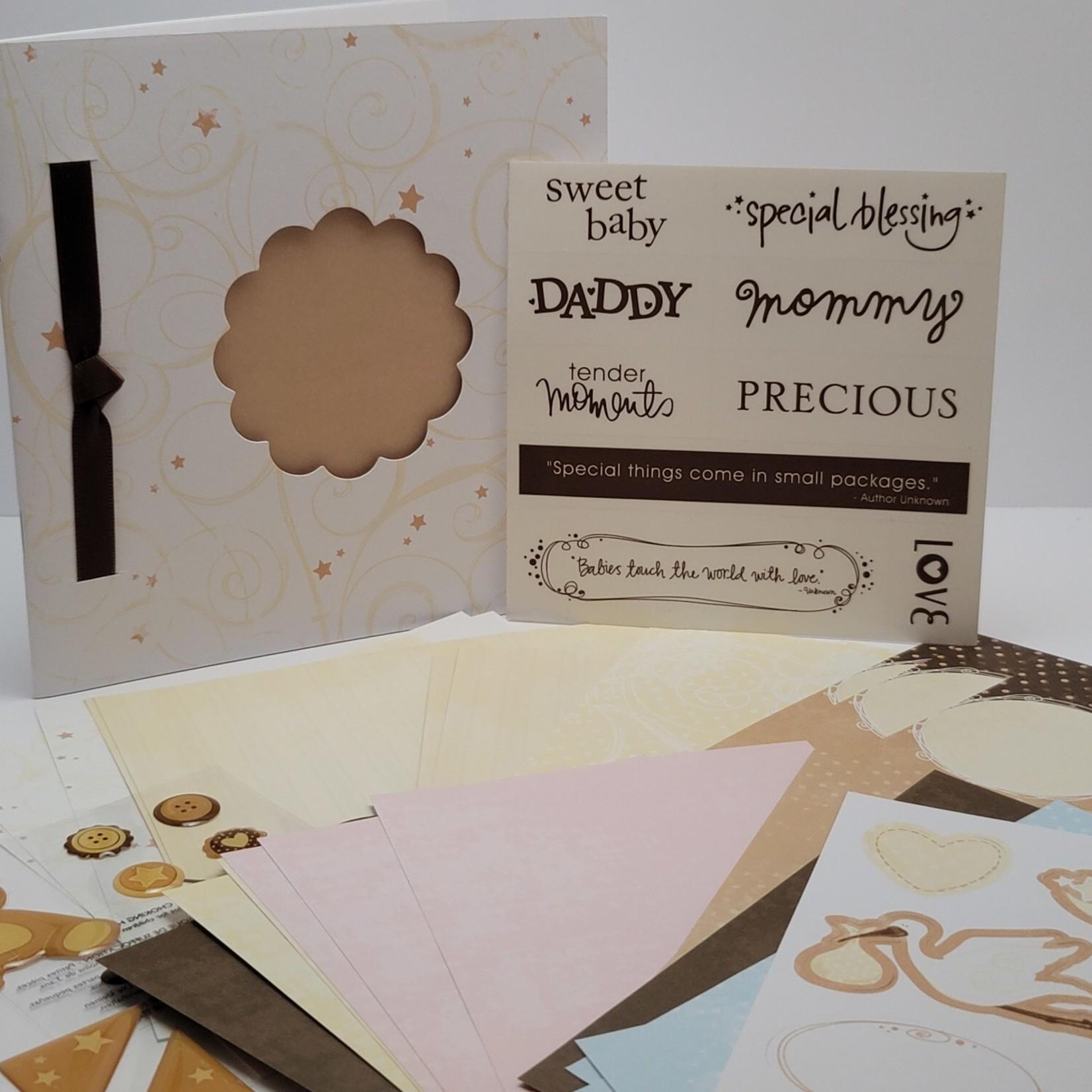 Mini Paper Album kit - Lullaby