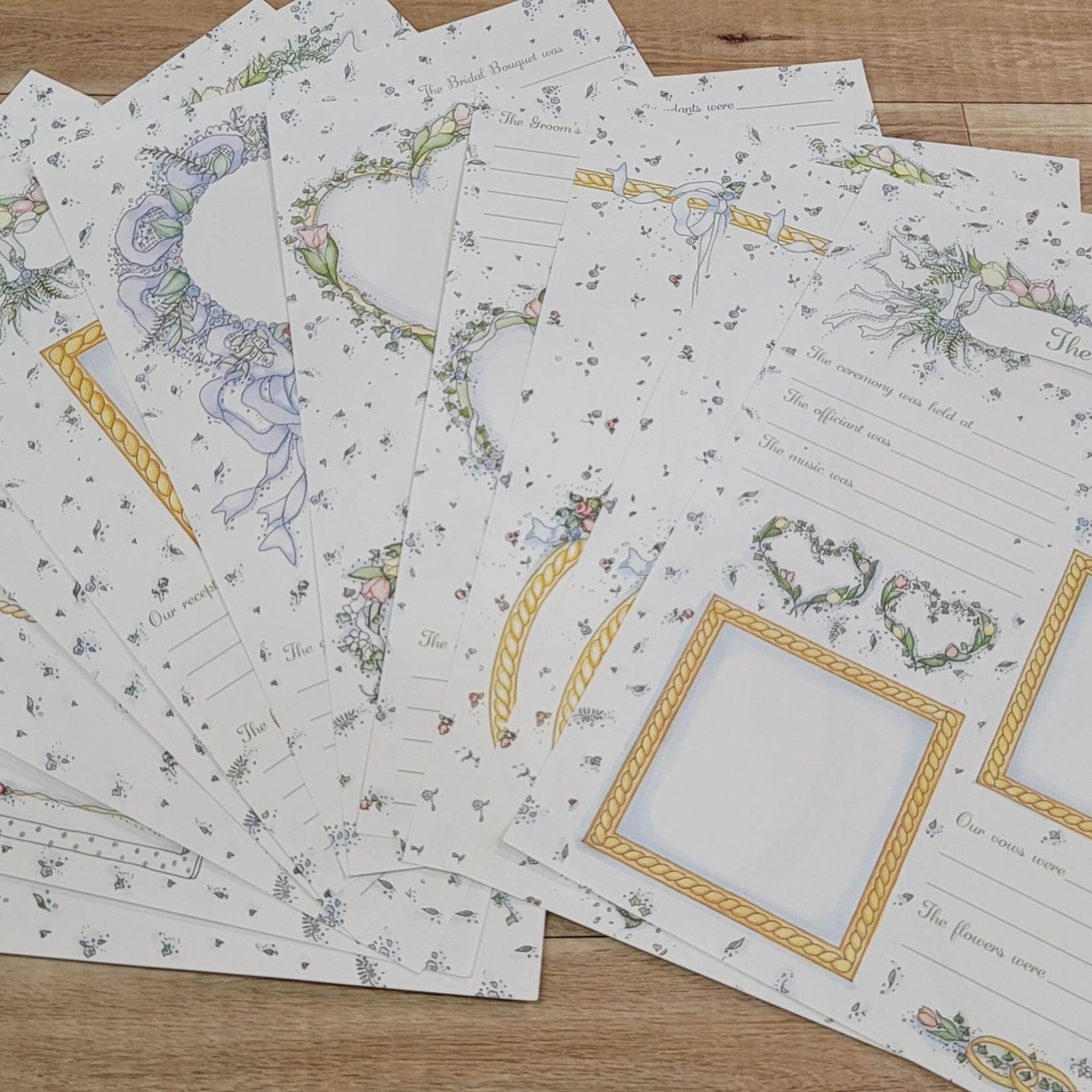 "Paper Packs - 8 1/2"" x 11"" - Wedding"