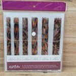 "Knit Picks 6"" Rainbow Wood Double Pointed Needle Set"