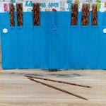 "Knit Picks 6"" Rainbow Wood Double Pointed Needle Set (Fabric Case)"