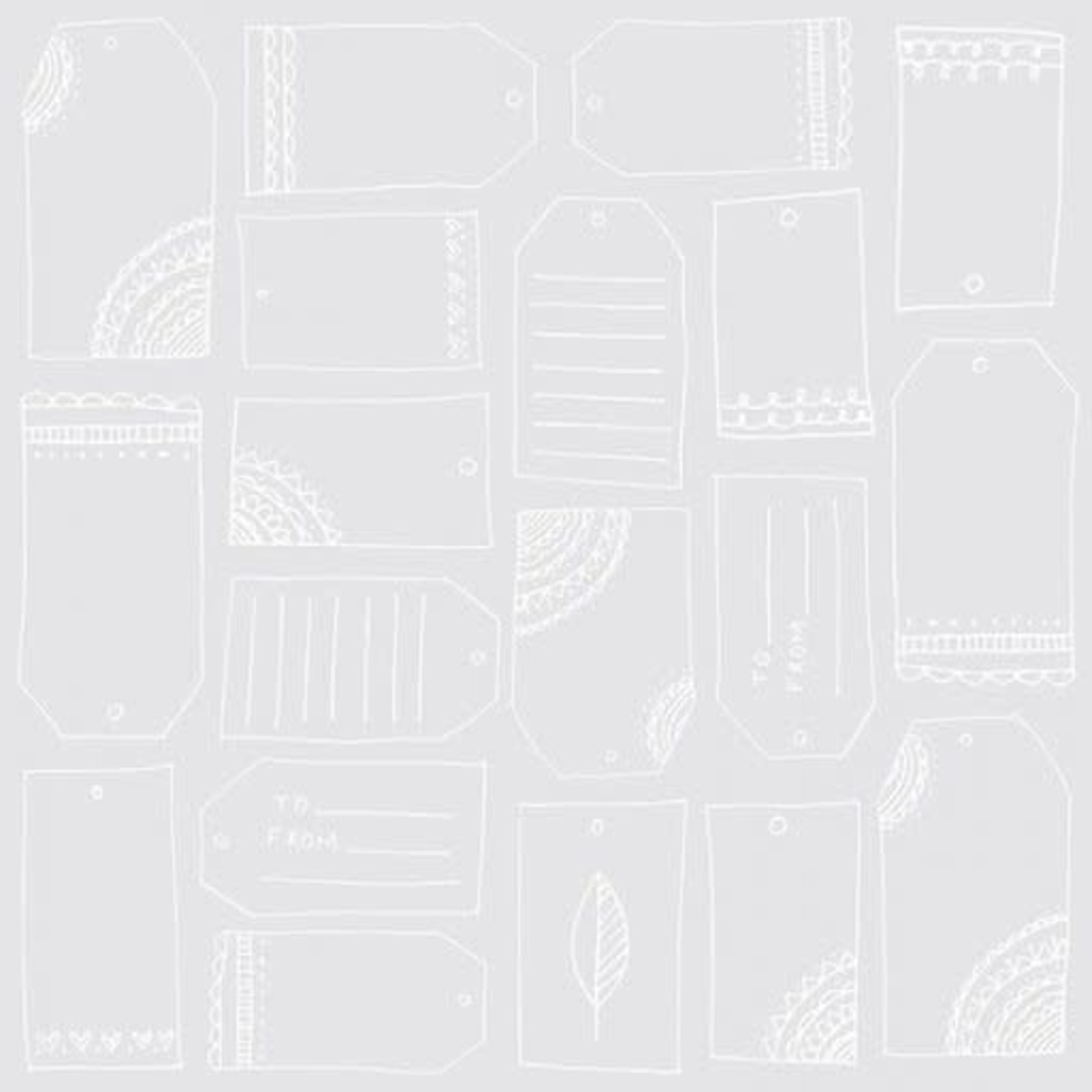 American Crafts American Crafts - Rise and Shine Collection - 12 x 12 Transparent Paper - Isabella