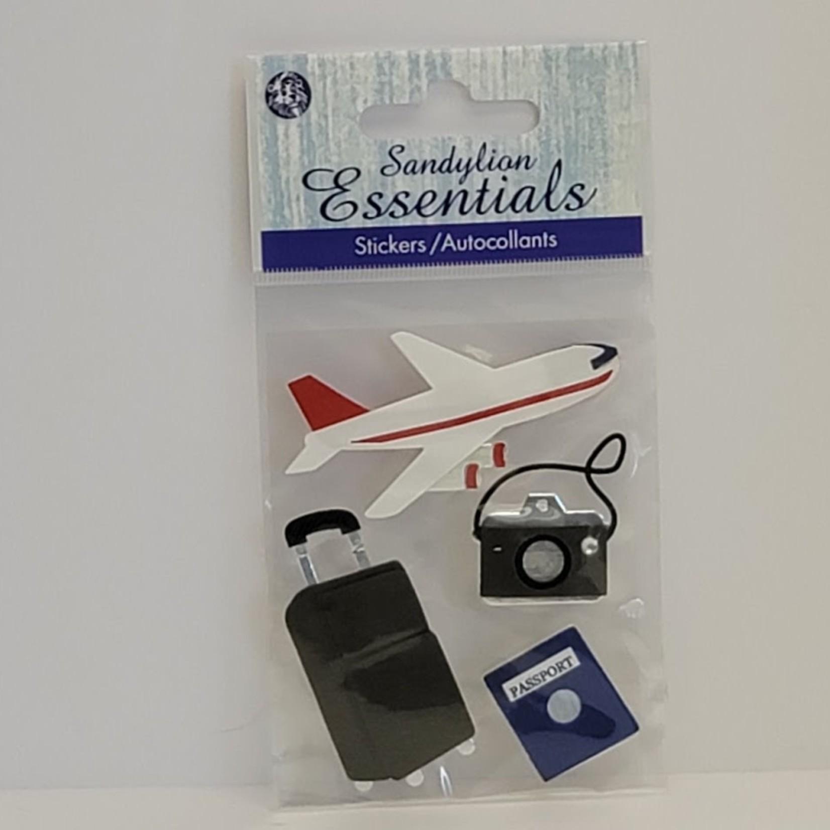 Sandylion Essentials - Stickers - Travel, Plane
