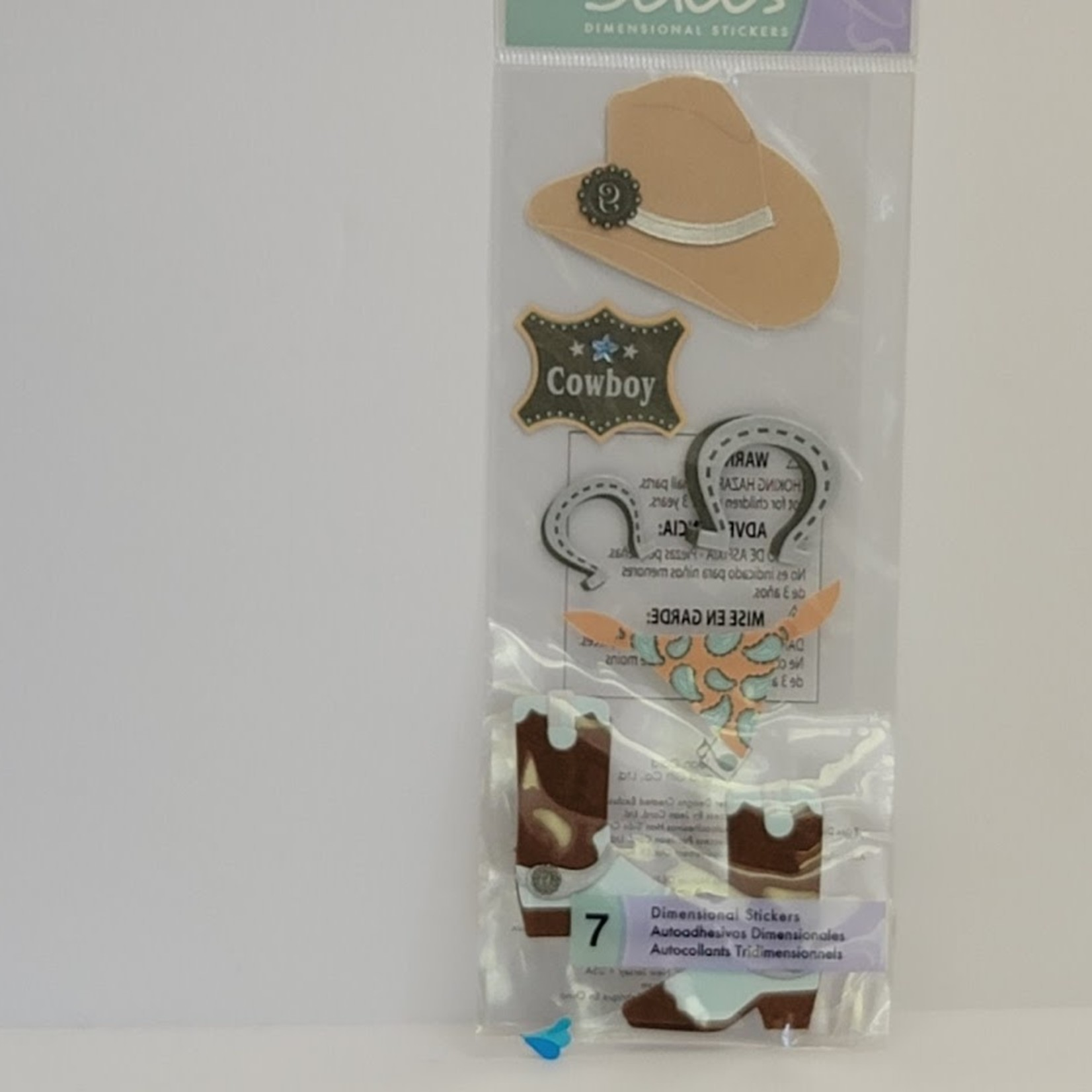 Jolee's DImensional Stickers - Cowboy