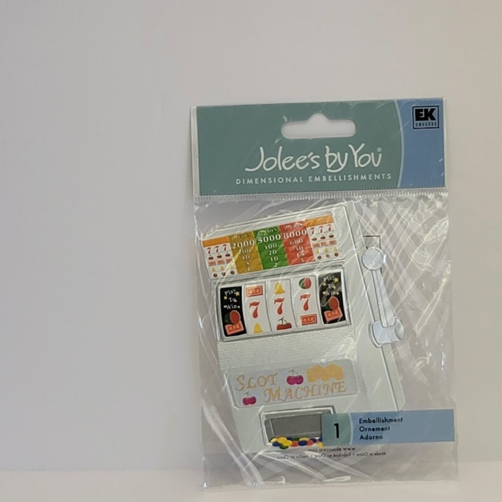 Jolee's DImensional Stickers - Slot Machine