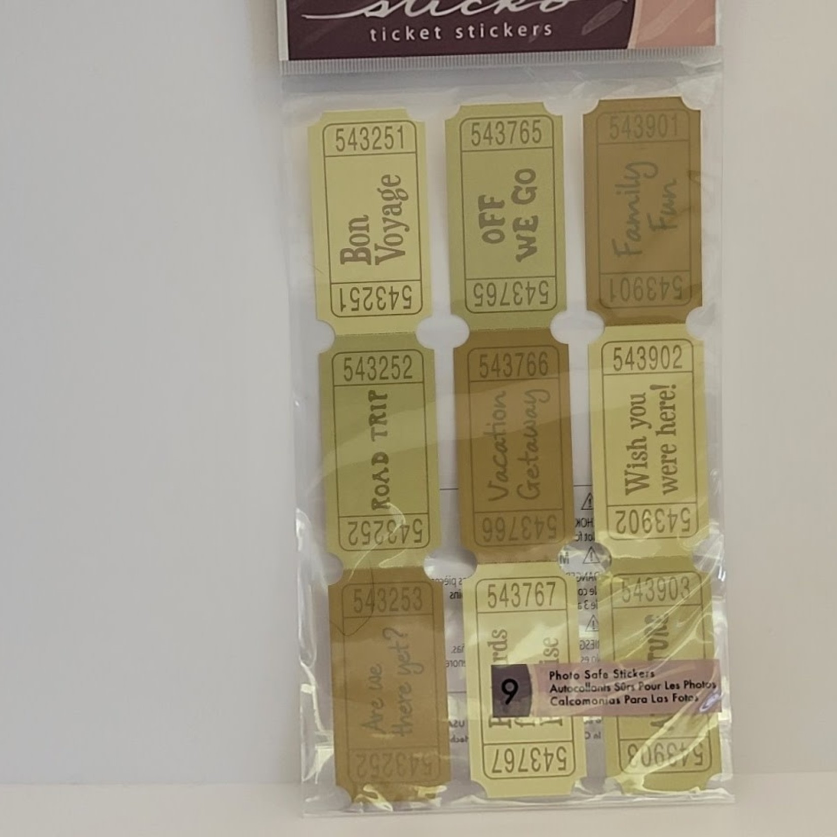 Sticko - Stickers - Trip Tickets