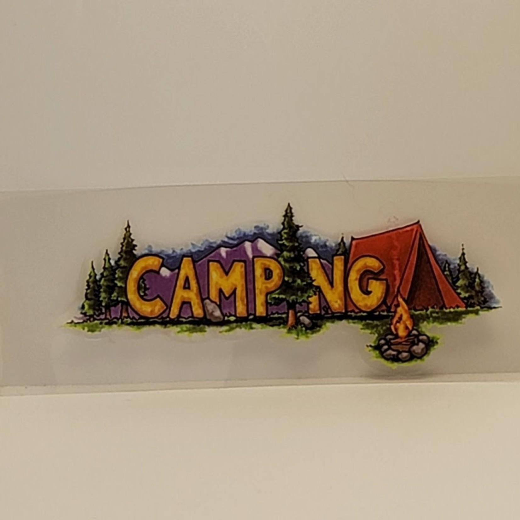 sticko - Heading Sticker - Camping