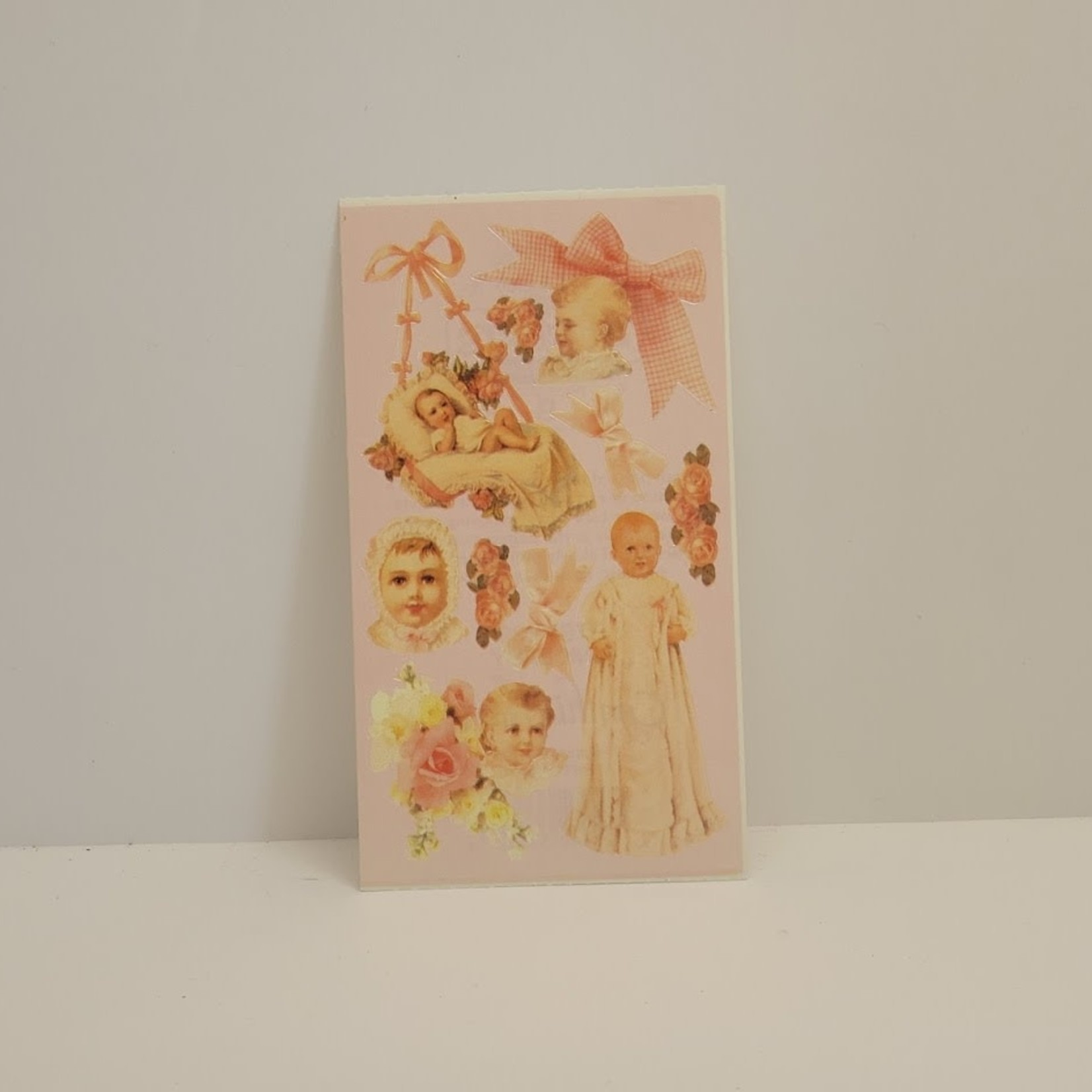 Stickers - Vintage Baby Girl