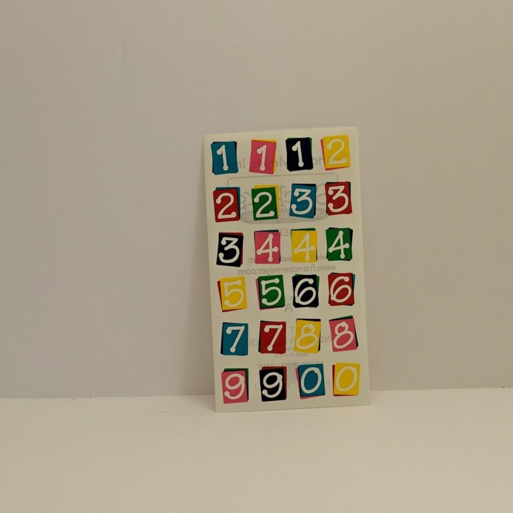 Stickers - Number Blocks