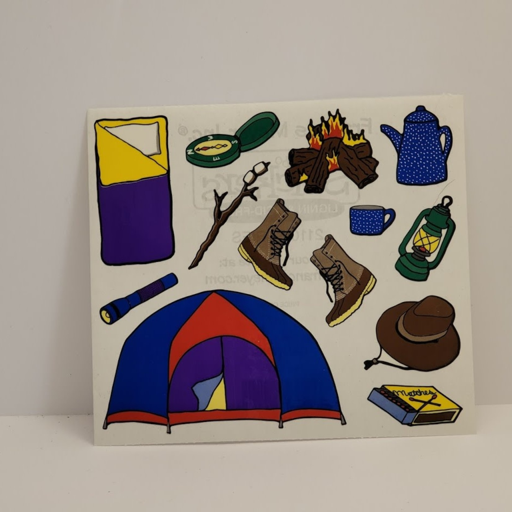 Stickers - Camping