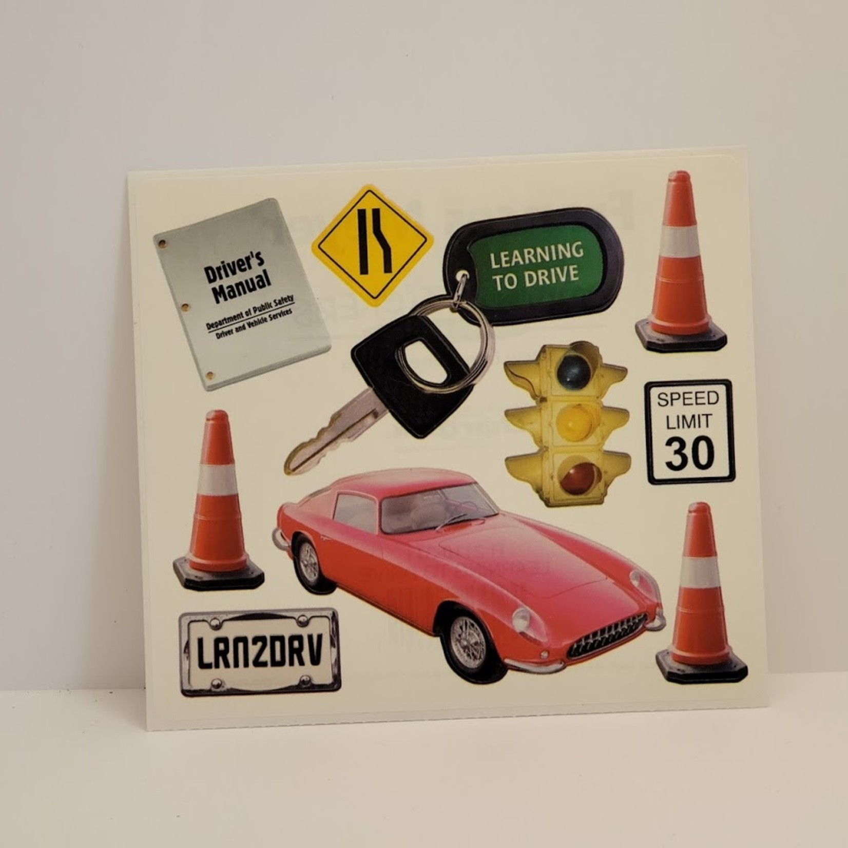 Stickers - Learning to Drive