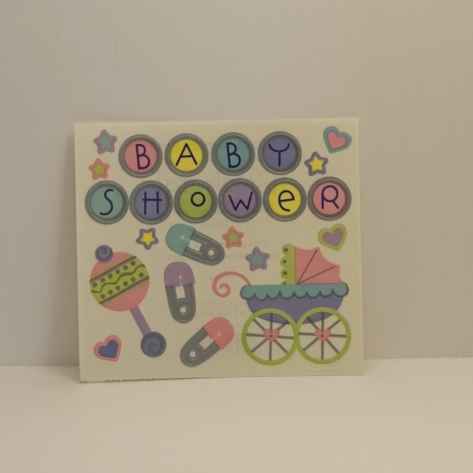 Stickers - Baby Shower