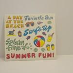 Stickers - Beach Toys