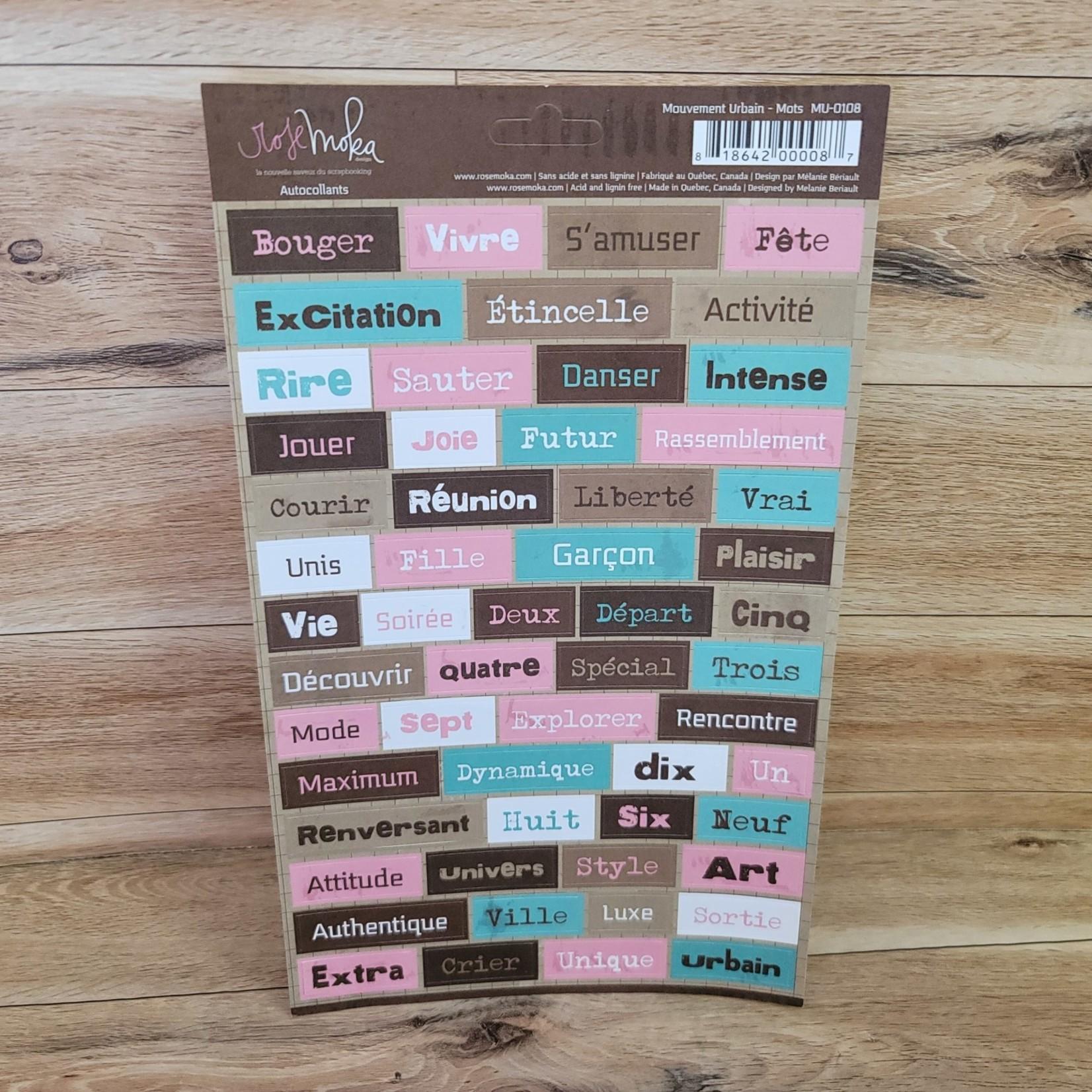 Sticker Sheet - Mouvement Urbain