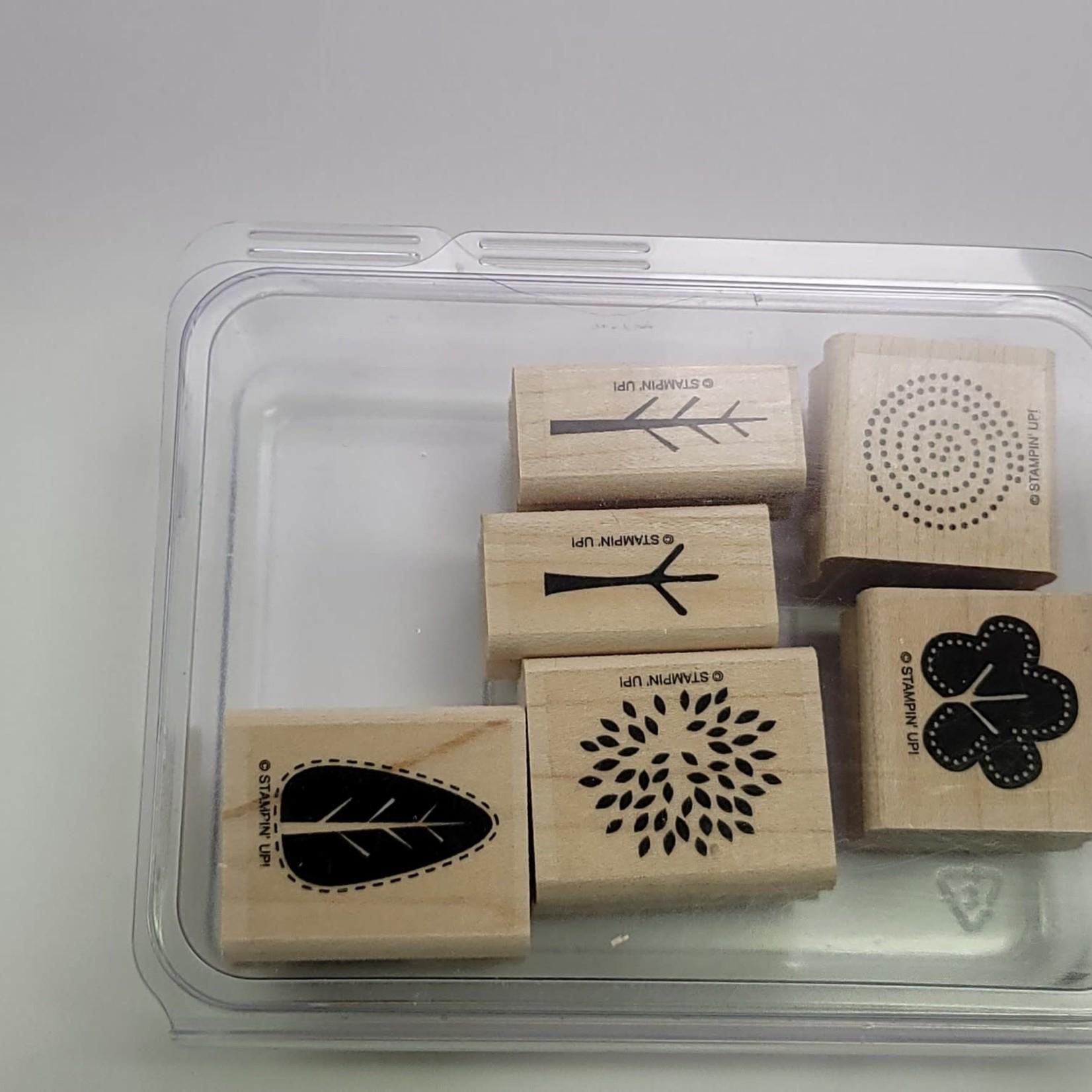 Stampin' Up - Block Stamps - Trendy Tree
