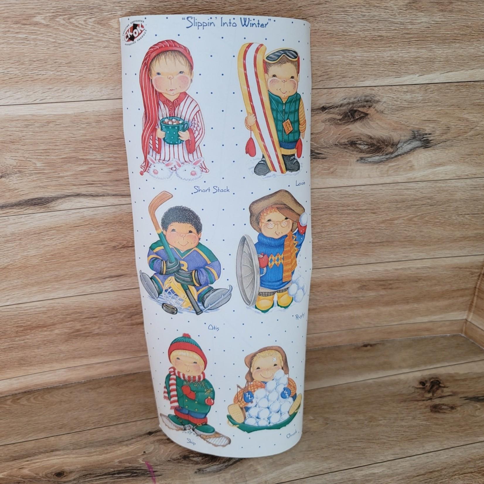 Tie Me to the Moon - Sticker Sheet - Winter Boys