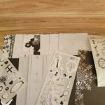 Wedding Themed Paper Pack with Stickers