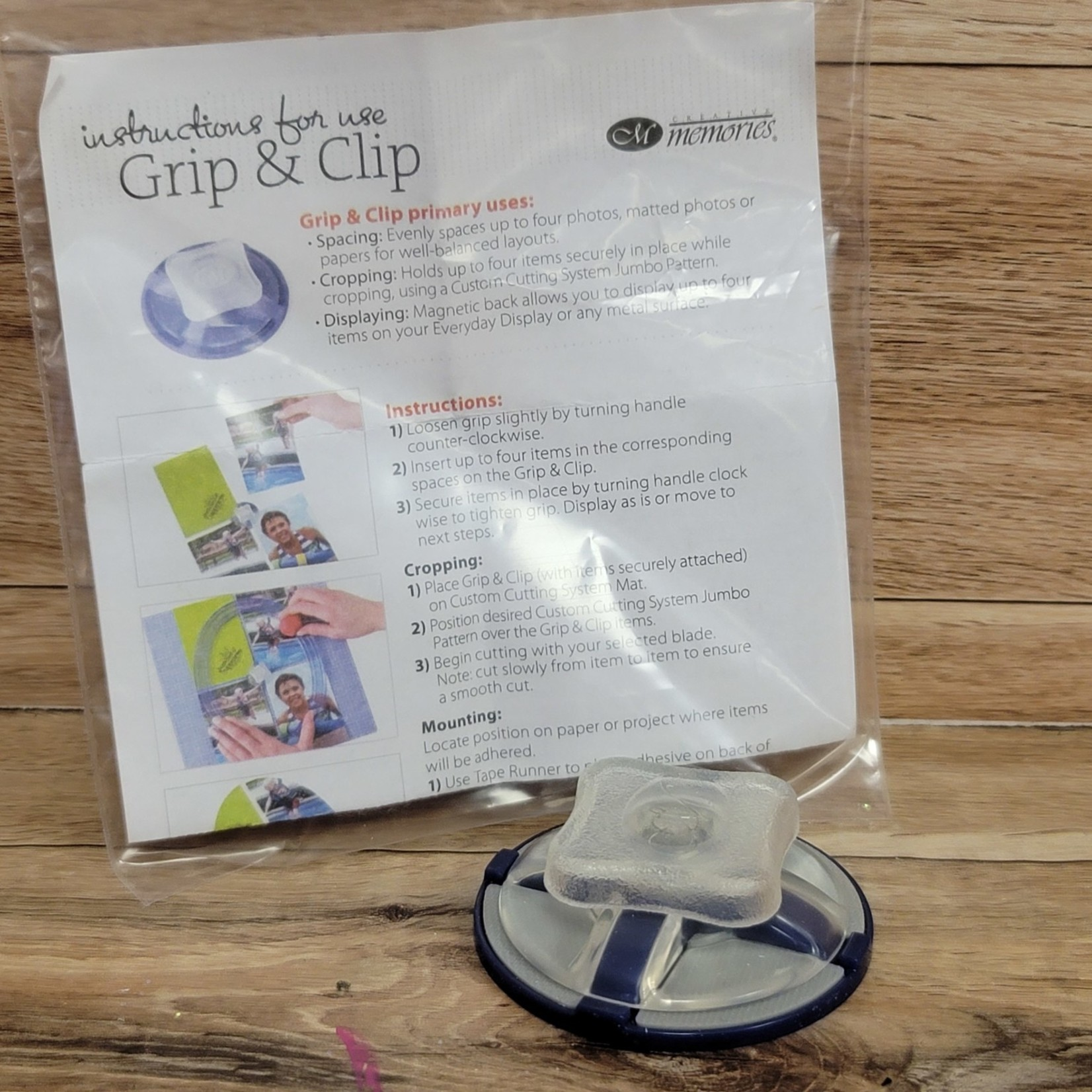 Creative Memories - Grip & Clip