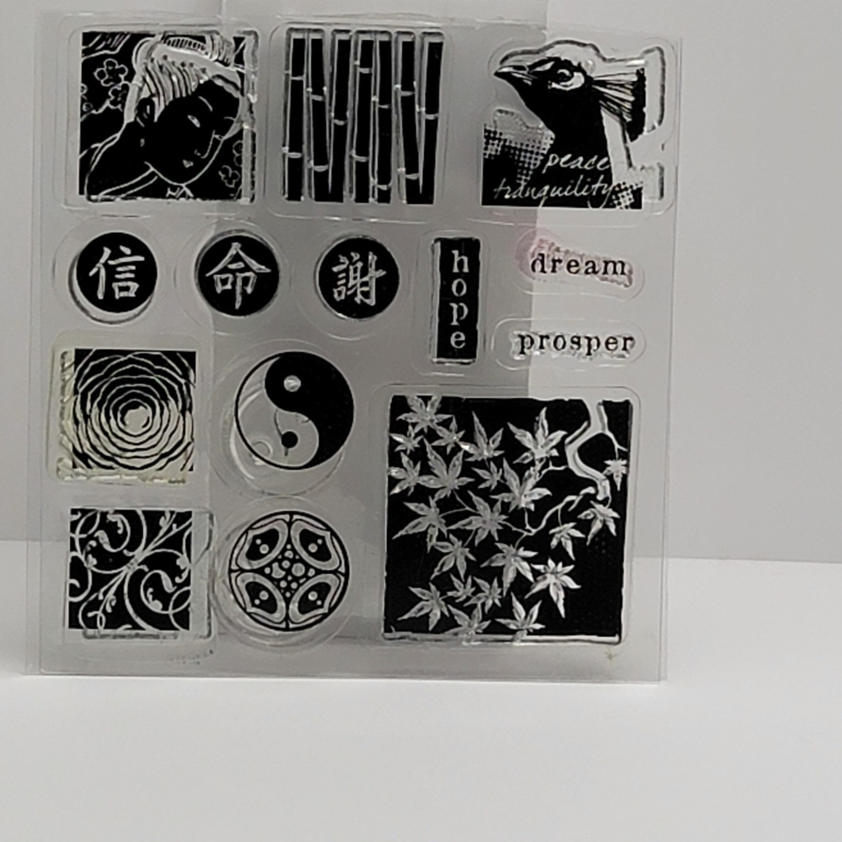 Clear stamps - dream, prosper
