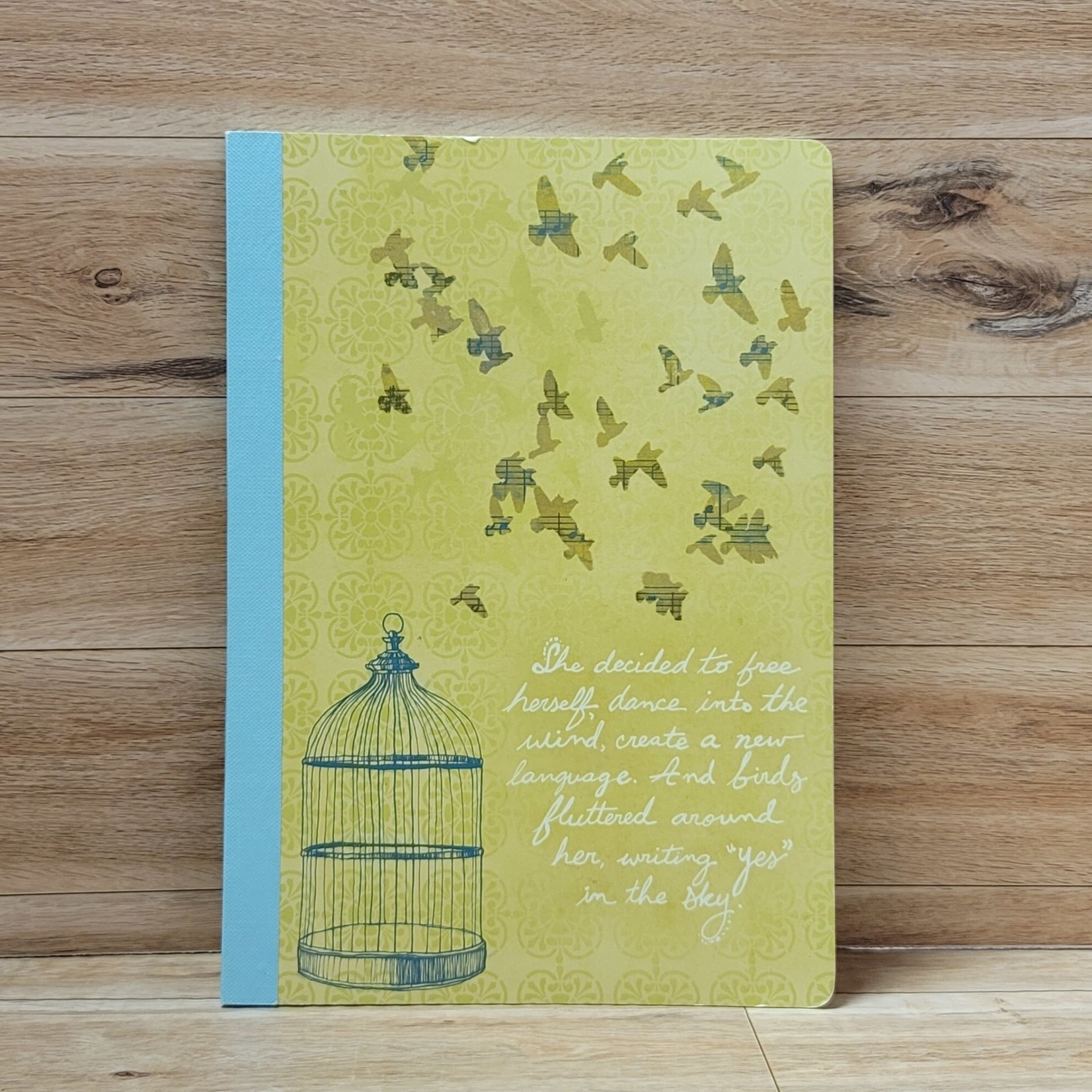 Notebook - She decided to free herself....