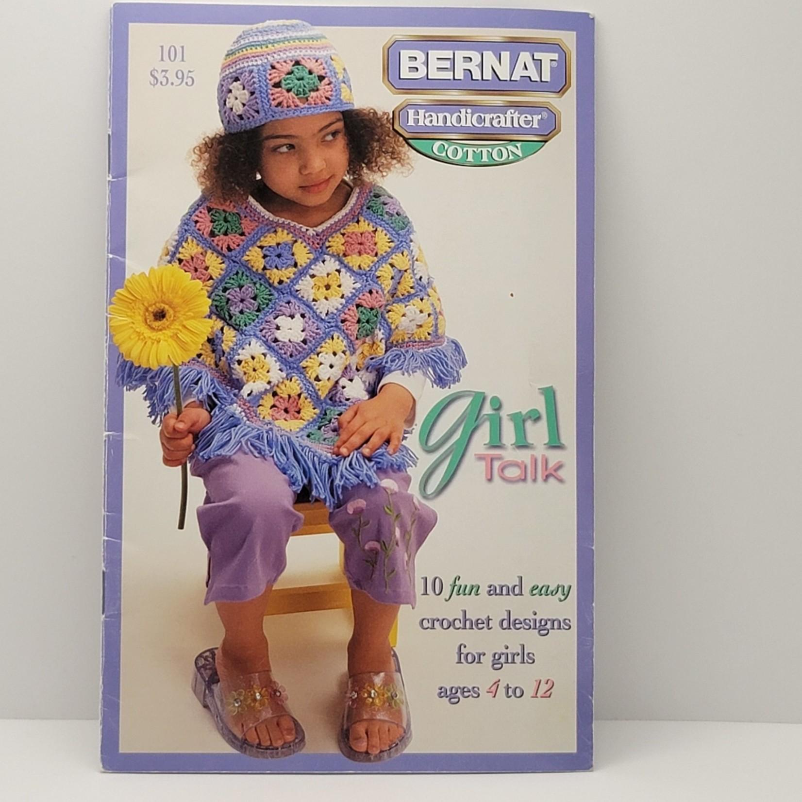 Bernat Crochet Patterns - Girl Talk (10 patterns)