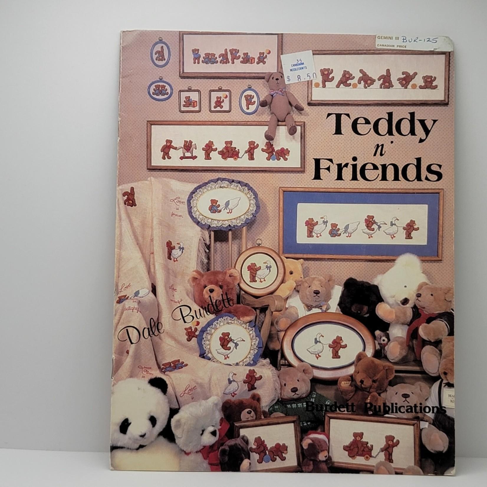 Cross Stitch Patterns - Teddy n Friends