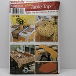 Simplicity - Easy Table Top Patterns
