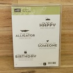 Stampin' Up Stampin Up - Rubber cling stamps - See Ya Later