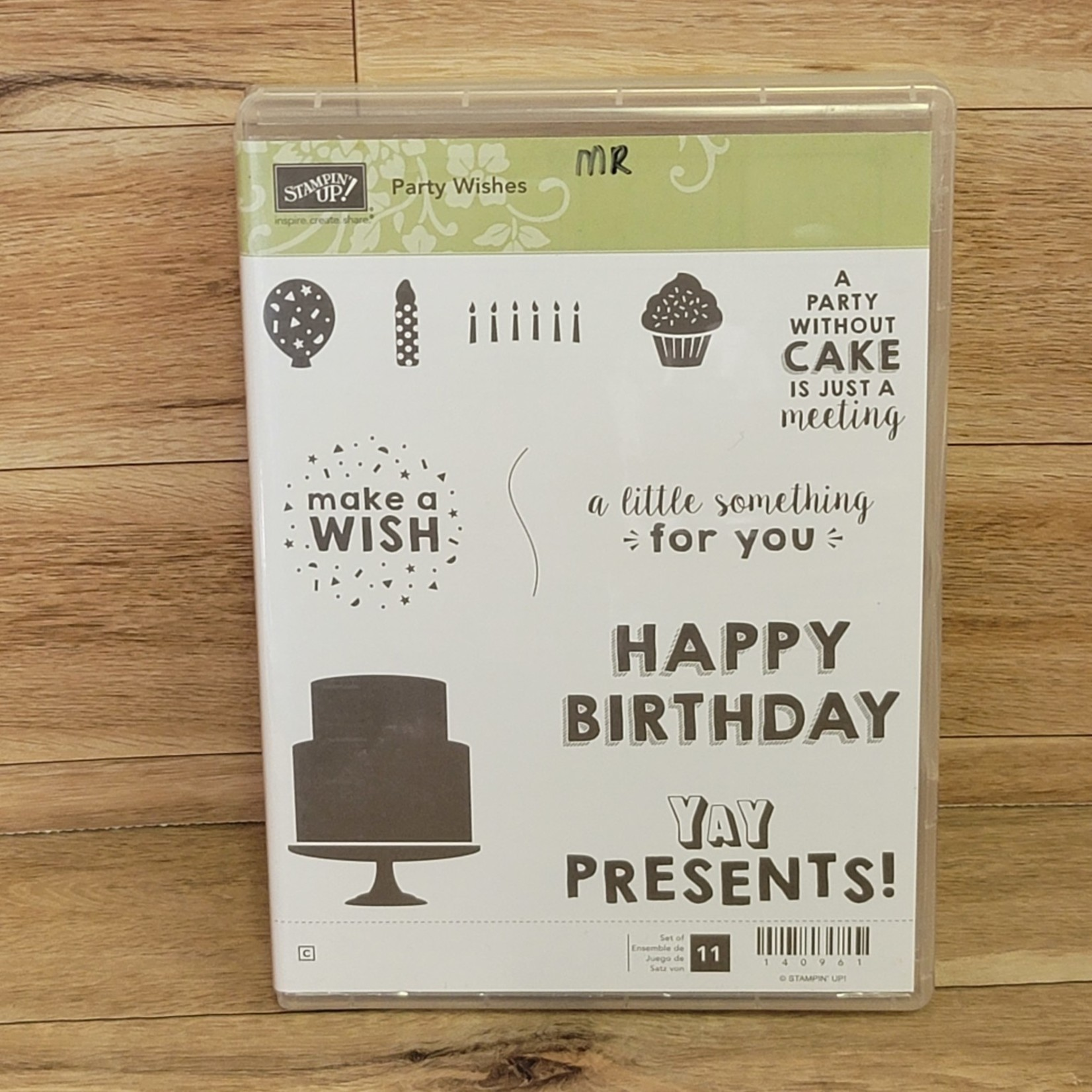 Stampin' Up Stampin Up - Rubber cling stamps - Party Wishes