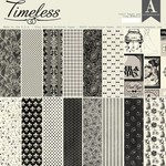 Authentique Authentique Double-Sided Cardstock Pad 12''X12'' 18/Pkg-Timeless