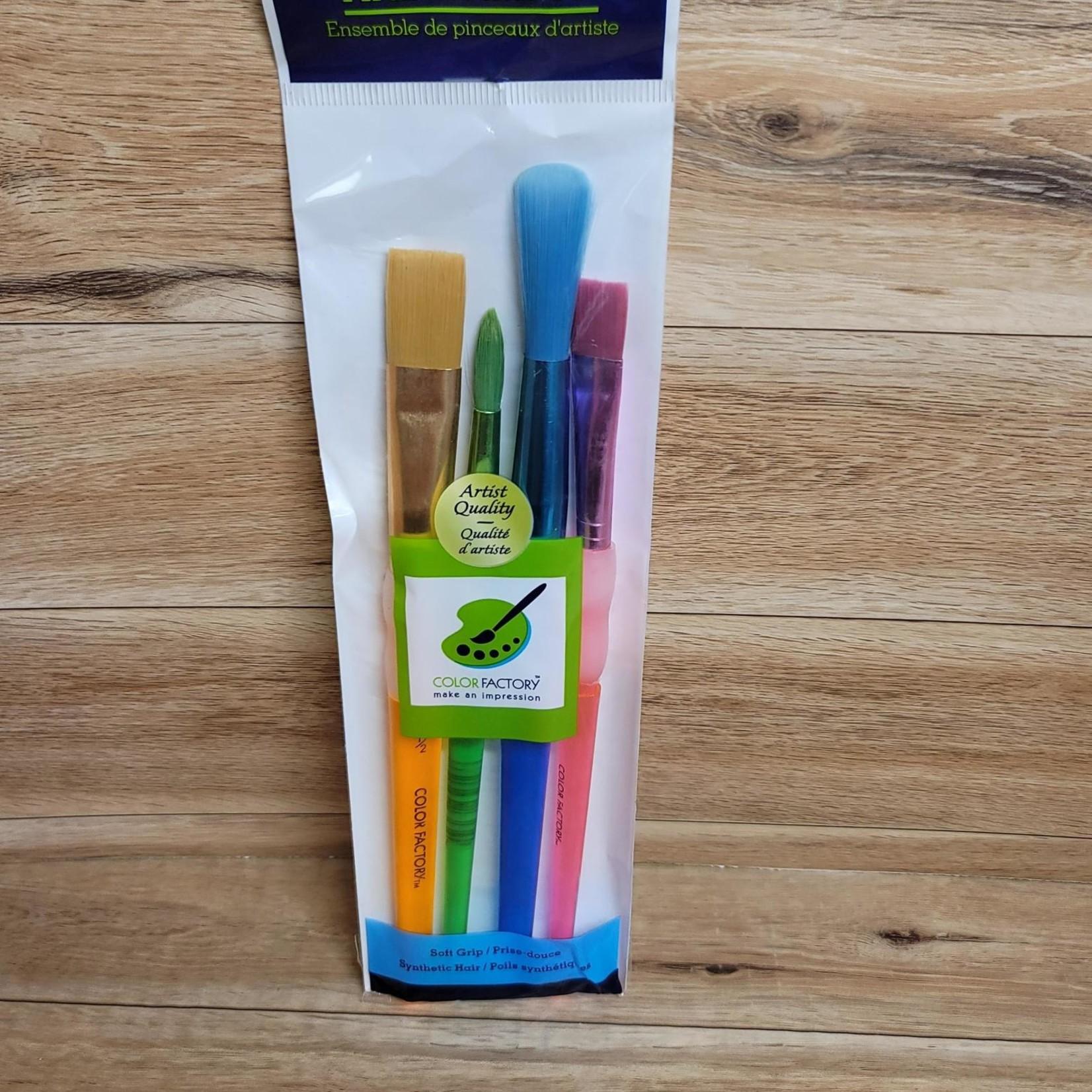 Artist Brush Set - Soft Grip