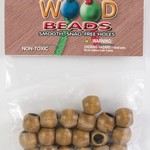 Barrel Wood Beads 13mmX11mm 18/Pkg