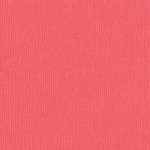"""Bazzill Bazzill 12"""" x 12"""" Canvas Cardstock Roselle"""