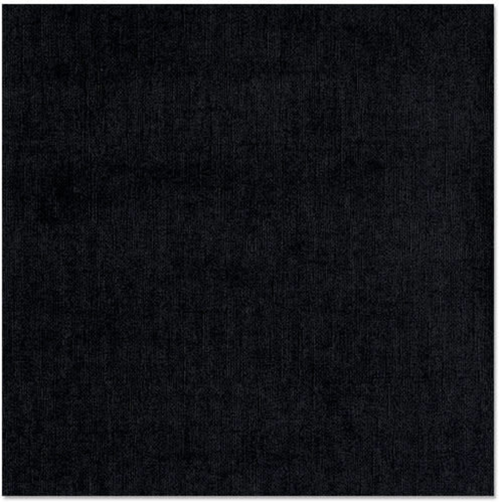 "Bazzill Bazzill Bling Cardstock 12""X12""-Black Tie"