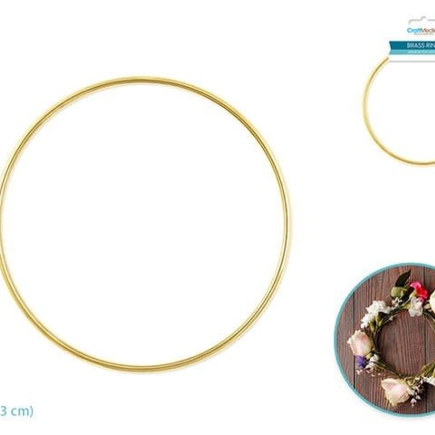 Brass Rings: 8'' Round