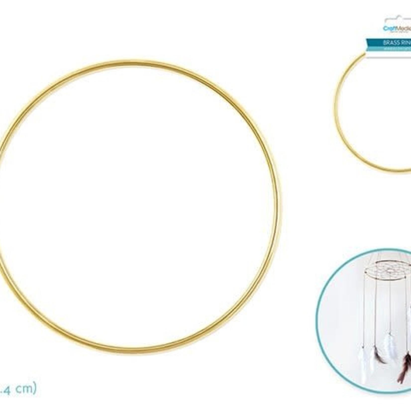 Brass Rings: 10'' Round