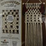 Design Works/Zenbroidery Macrame Wall Hanging Kit 8''X24''-Sedona