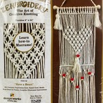 Design Works/Zenbroidery Macrame Wall Hanging Kit 8''X24''-Have A Heart